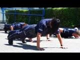 Policjanci robią pompki i nagrywają filmik. Chcą zebrać pieniądze na leczenie chorych dzieci