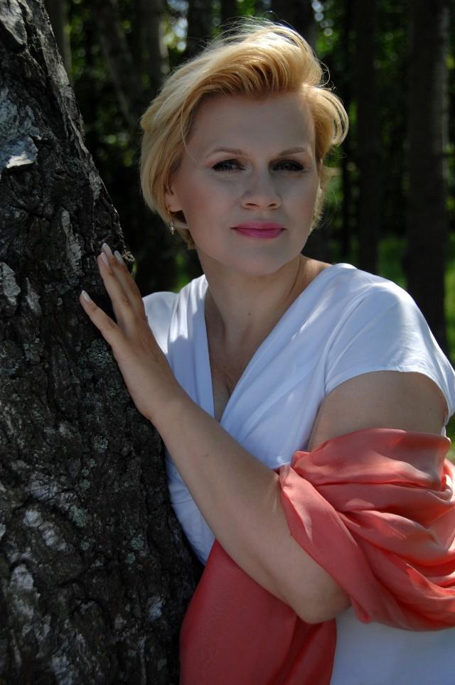 Na zdjęciu: Aneta Łukaszewicz – mezzosopran