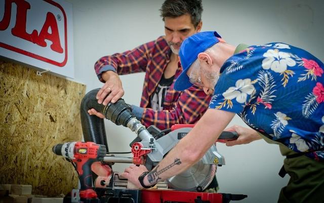 W Męskiej Szopie przy Abrahama 8a na Błoniu będzie można liczyć na wsparcie techniczne, wysokiej jakości narzędzia i elektronarzędzia. To miejsce dla wszystkich niezależnie od wieku, płci, koloru skóry, oczu i umiejętności