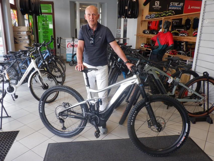 Jarosław Surwiło- Bohdanowicz przekonuje, że rower może...