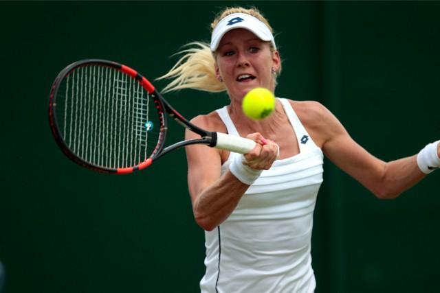 Urszula Radwańska (tu na kortach Wimbledonu) próbuje wrócić do światowej czołówki