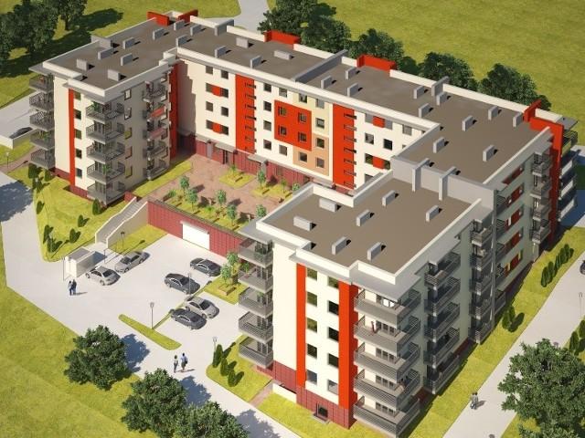 Eko Invest podpisał niedawno kontrakt z firmą Antczak na budowę budynku mieszkalnego na ulicy Piłsudskiego.