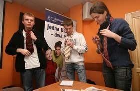 Łukasz Kosińsk: - Istnieje sto sposobów na założenie krawata