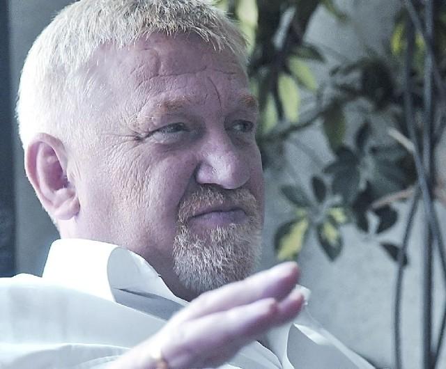Prezes Leszek Pietrasik: - Biogazownia da wielu ludziom pracę i być może ściągnie do wsi kolejnych inwestorów (fot. Paweł Janczaruk)