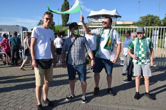 Kibice przed meczem Eltrox Włókniarz Częstochowa - Betard Sparta Wrocław
