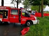 Tragiczny wypadek w gminie Janowiec Wielkopolski. Ojciec i córka nie żyją [zdjęcia]