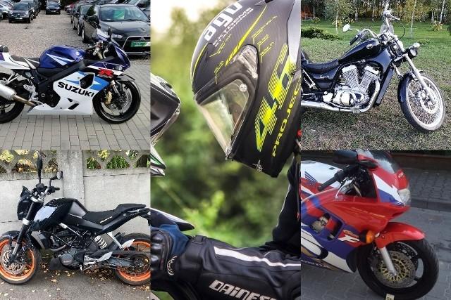 Chcecie kupić nowy motocykl? Podobno każda pora roku jest na to dobra. Jedni decydują się na nowe maszyny prosto z salonu. Inni przeszukują oferty na portalach ogłoszeniowych. Przejrzeliśmy oferty używanych motocykli w przedziale cenowym od 6 do 12 tysięcy złotych. Zobaczcie, jaki sprzęt można kupić w tej cenie nie tylko w woj. lubuskim. KLIKNIJ I PRZEJDŹ DO GALERII>> Czytaj również: Ceny paliw. Jeździsz takim autem, więcej zapłacisz* Zdjęcia i ogłoszenia pochodzą z serwisu www.gratka.pl (z dnia 29.22.2019) Policjanci w Iłowej odzyskali skradzione w Niemczech motocykle