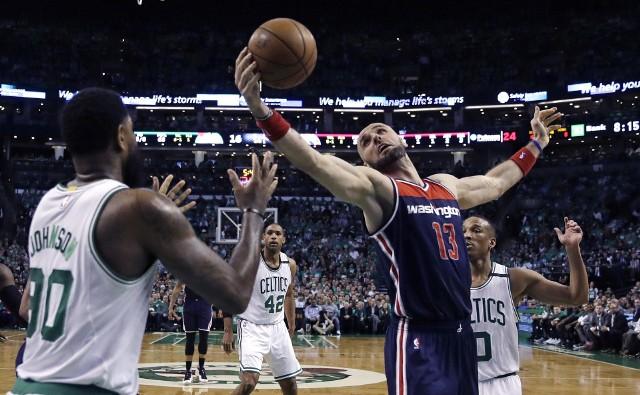 Marcin Gortat w meczu numer pięć z Celtics zdobył siedem punktów i miał 11 zbiórek.