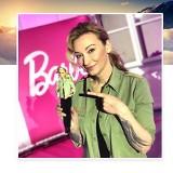 Martyna Wojciechowska ma Barbie na swoje podobieństwo! To lalka z serii Barbie Shero WIDEO+ZDJĘCIA