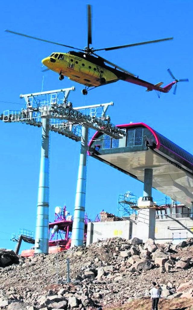 Budowa ośrodka narciarskiego Pilsko