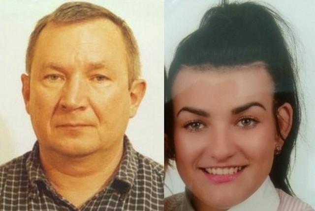 Zaginieni mieszkańcy Pionek to 25-letnia Natalia Gruszecka i 59-letni Stanisław Głuszek.