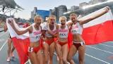 Uniwersjada 2017. Żeńska sztafeta 4x100 metrów ze srebrnym medalem
