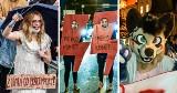 Maski, kostiumy i przebrania na protestach. Pomysłowość protestujących w Strajku Kobiet nie ma granic, ich kreacje robią wrażenie [zdjęcia]