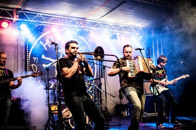 Horpyna ewoluowała od tradycyjnego folku, przez utwory ludowe grane w stylistyce rocka, aż do tworzenia własnych kompozycji o folkowo-rockowym brzmieniu.