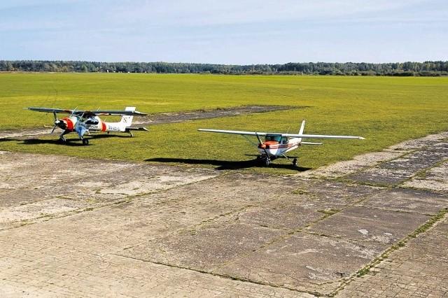 Teraz samoloty muszą lądować na trawie. Po wybetonowaniu pasa startowego o długości 1350 metrów na Krywlanach mogłyby lądować te zabierające na pokład do 50 osób.
