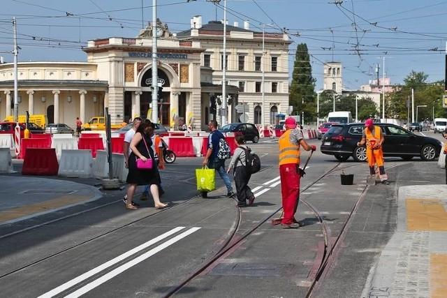 Remont placu Orląt Lwowskich zakończył się w sierpniu 2020 r.