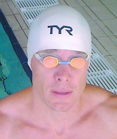 Tomasz Chwaliszewski, pływak długodystansowy z Osielska