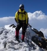 Nagrodzony alpinista w Strefie G2