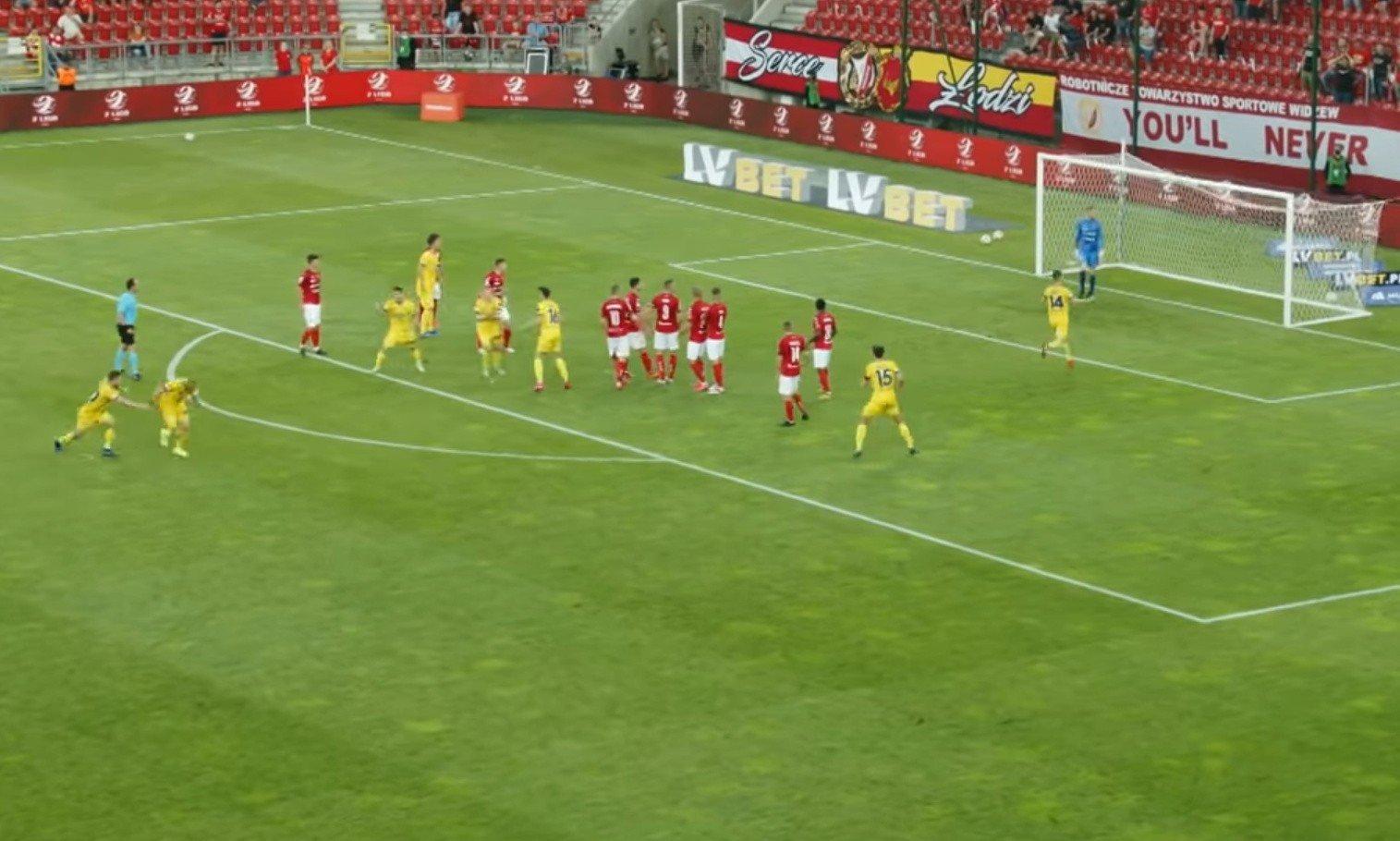 2 liga. Skrót meczu Widzew Łódź - Elana Toruń 1:1 [WIDEO] | Gol24