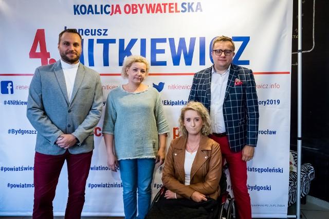 Ireneusz Nitkiewicz chce walczyć i prawa osób niepełnosprawnych