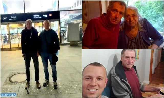 Po 30 latach nałogu, z dnia na dzień zerwał z nałogiem i spotkał się z matką. Pomógł mu... dzielnicowy