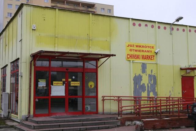 W Słupsku powstaje trzeci chiński supermarket