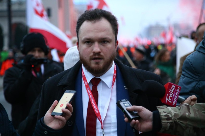 Witold Tumanowicz, wiceprezes Stowarzyszenia Marsz Niepodległości