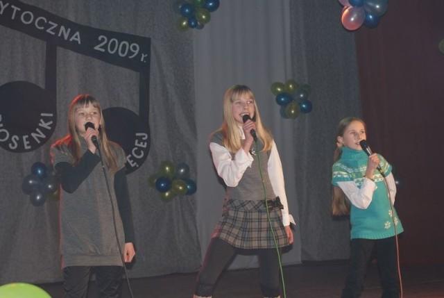 Uczestnicy festiwalu występowali na scenie, jakby wcale nie mieli tremy