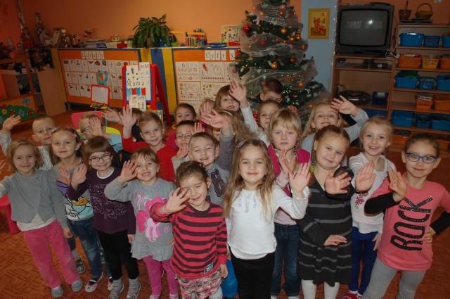 Sześciolatki z grupy VI z Miejskiego Przedszkola nr 34 w Zielonej Górze