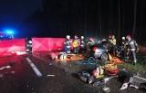 Śmiertelny wypadek w miejscowości Żabinko na trasie Mosina - Śrem [ZDJĘCIA]