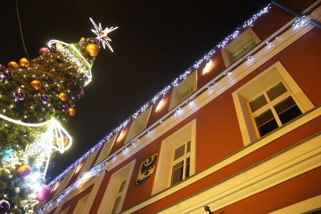 Świąteczne ozdoby w Nowej Soli podobają się mieszkańcom co roku