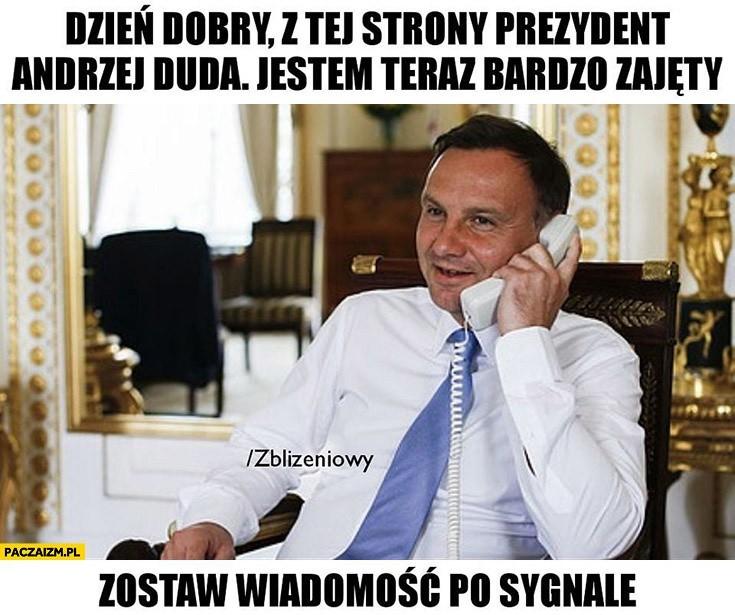 Andrzej Duda wkręcony! Prank na YouTube Rosjan udany -...