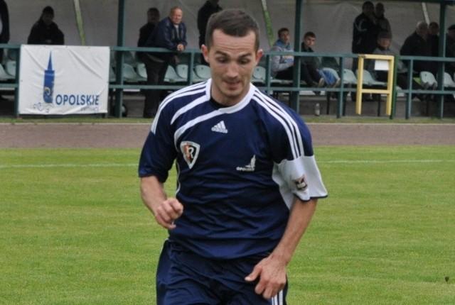Denis Sotor zdobył dla RuchuZdzieszowice jedną z dwóch bramek w Częstochowie.