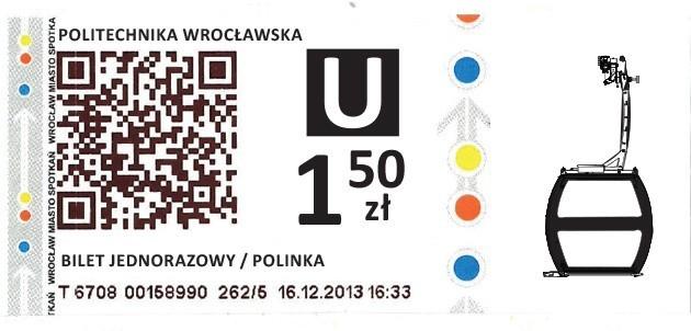 Tak będzie wyglądał bilet na Polinkę. Łudząco przypomina bilet MPK [ZOBACZ]