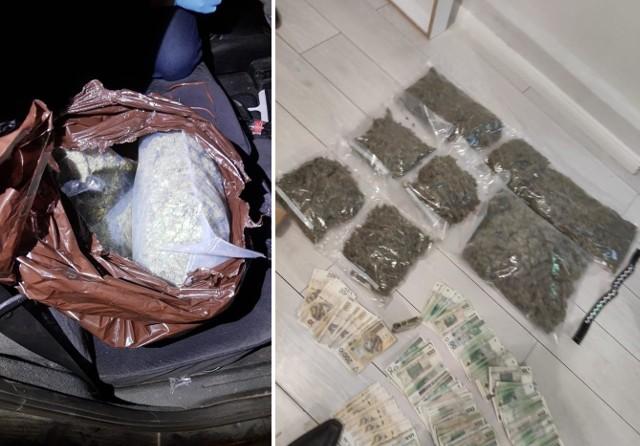 6 kg marihuany i ponad 100 g innych środków odurzających przejęli kryminalni z KWP w Bydgoszczy. Do sprawy zatrzymali 23-latka