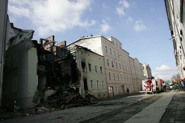 Kierowca, który uszkodził przyłącze gazowe na Krasińskiego ma zarzuty.