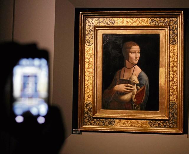 """Na razie """"Dama"""" Leonarda znajduje się na Wawelu"""
