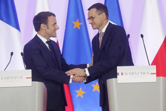 Prezydent Francji w Warszawie