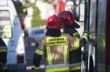 Wypadek na trasie S7 w Starych Babkach 30.07.2021 r. Jedna osoba trafiła do szpitala