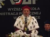 Zmarł prof. dr Wiesław Opalski, były rektor WSAP w Ostrołęce