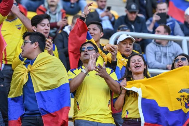 Fani z Ekwadoru dopisali w środę na stadionie w Gdyni i uskrzydlili swoich rodaków w meczu z Meksykiem