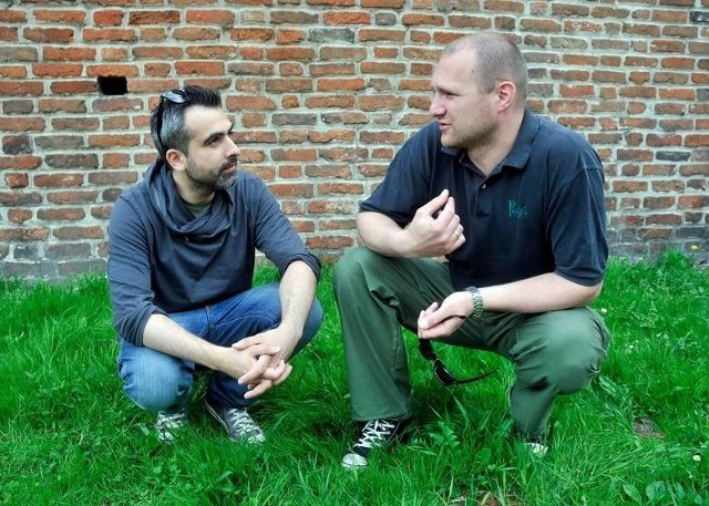 Abelard Giza i Wojciech Tremiszewski