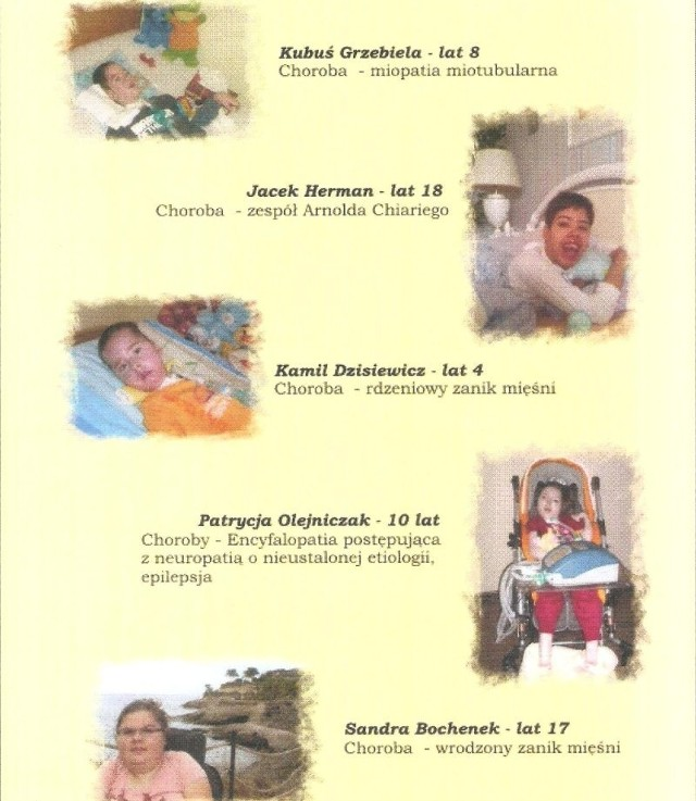 Kwesta prowadzona będzie na leczenie 5 ciężko chorych dzieci z całej Opolszczyzny.