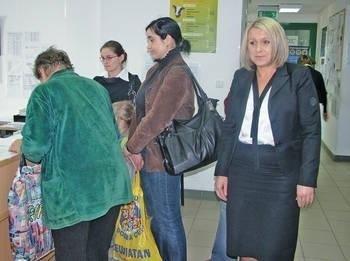W biurze mamy bardzo mały ruch - mówi Anna Kubik Fot. Aleksander Gąciarz