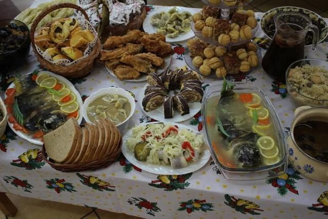 Tradycyjne potrawy wigilijne małopolskich gospodyń.