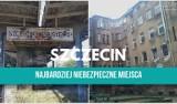 Najniebezpieczniejsze miejsca w Szczecinie według naszych internautów