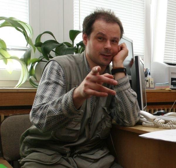 Rafał Kosno z Federacji Zielonych jest przede wszystkim...