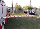 Rutki-Kossaki. Wypadek na drodze 679, dwie osoby ranne (zdjęcia)