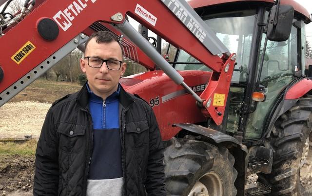 Marcin Rusnak, rolnik spod Działoszyc. O jego inicjatywie rozdawania ziemniaków w Sosnowcu, mieście w województwie śląskim, mówiła cała Polska.