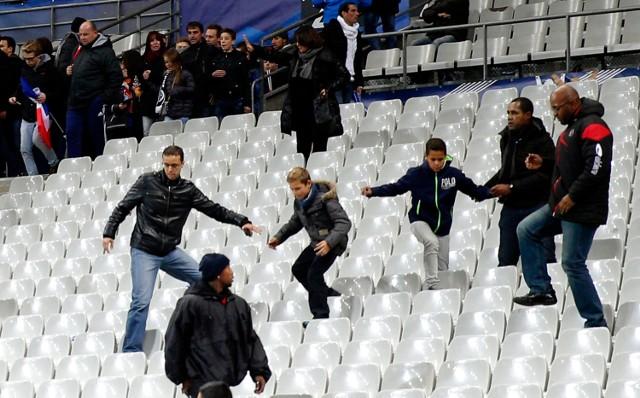 Panika na Stade de France w piątkowy wieczór